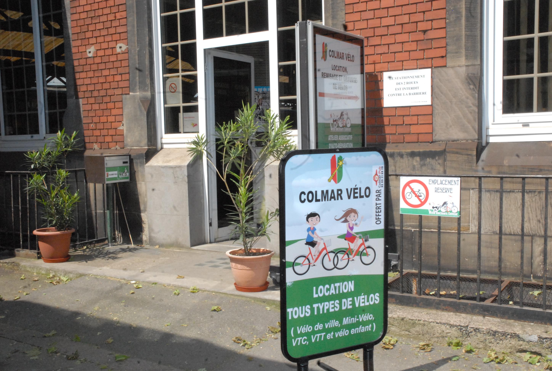 Entrée Colmar Vélo - Vélodocteurs
