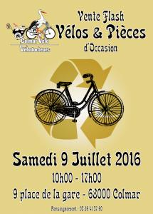 Affiche Vélos et pièces d'Occasion